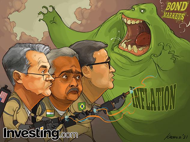 中央銀行はインフレにびっくり