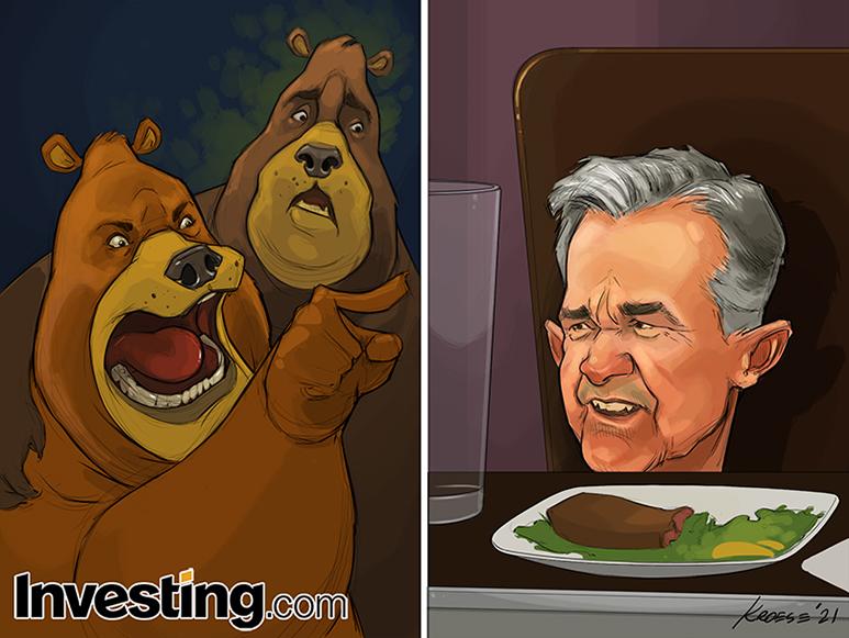 弱気のクマはFRBのパウエル議長を良く思っていない