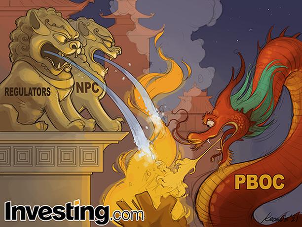 中国市場の消火