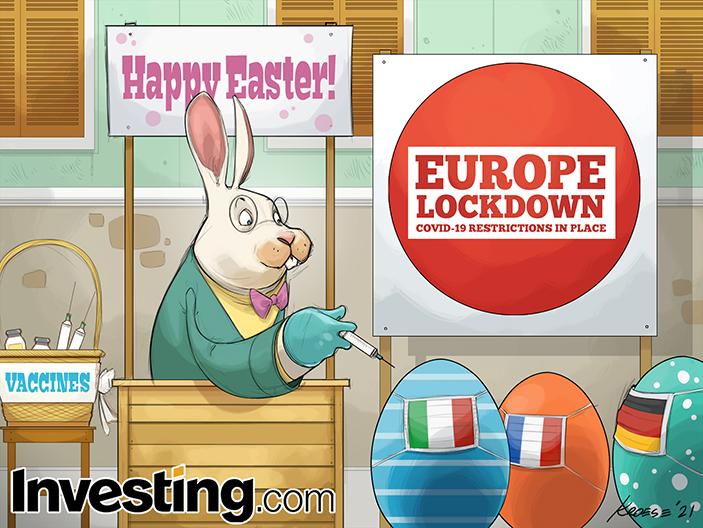 復活祭が欧州のロックダウンにやすらぎを与えてくれますように