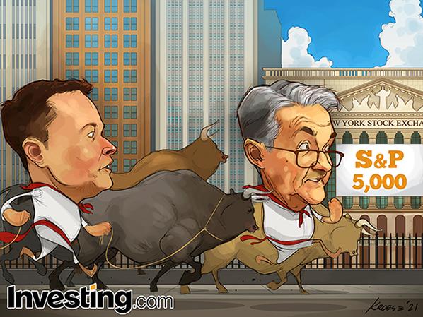 S&P 500 최고가 경신, 증시 반등세 이어져