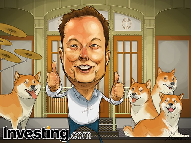 Dogecoin Mania Grips Financial Markets Ahead of Elon Musk's SNL Appearance!