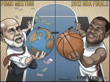 Does Bernanke dominate the world economy like Lebron the NBA Finals?