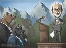 All eyes on Bernanke