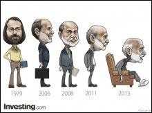The evolution of Bernanke: to retire next year?