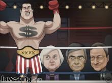 通貨の戦争が続いています。 2015年は、USドルが支配するのでしょうか?
