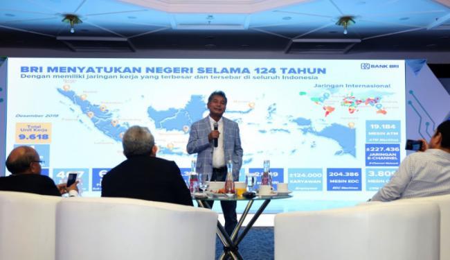 © Warta Ekonomi. Sunarso: BRI Fokus Berdayakan UMKM Lewat Transformasi Digital