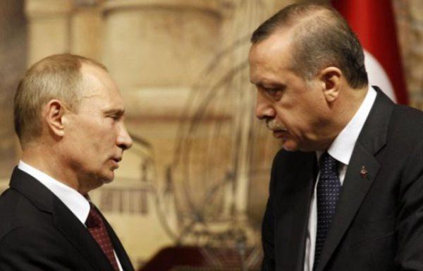 © EborsaHaber. Cumhurbaşkanı Erdoğan, Vladimir Putin ile Telefonda Görüştü