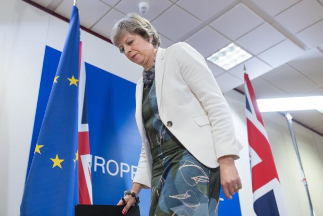 May Seeks Transition Deal as Part of All-in-One Brexit Package