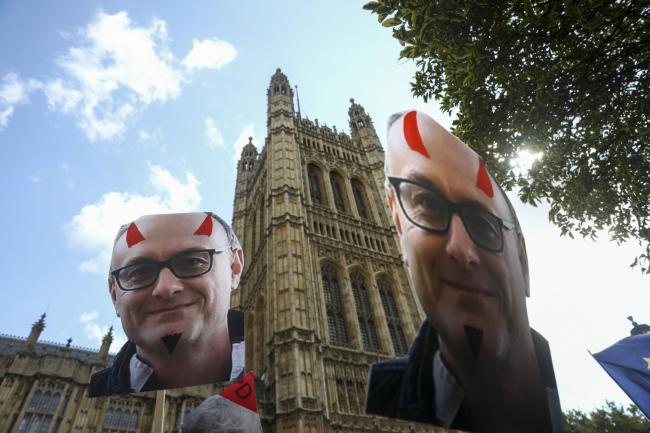 Britain's Steve Bannon IsTearing Boris Johnson's Tories Apart