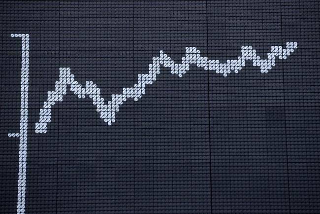 © Bloomberg. The DAX index curve is displayed inside the Frankfurt Stock Exchange in Frankfurt, Germany.
