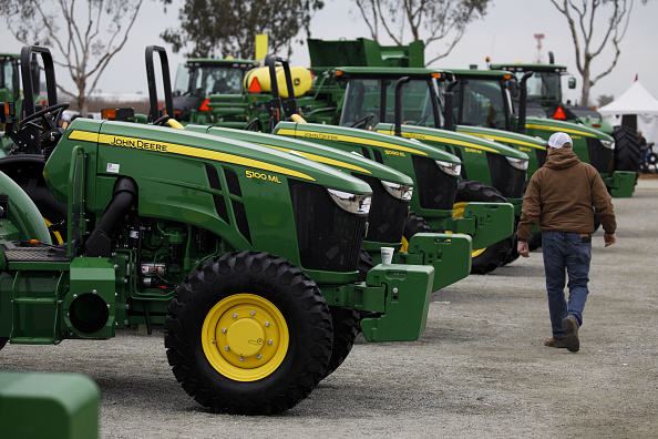 Farm Equipment Purchases Plummet as Trade War Hits Rural America By Bloomberg