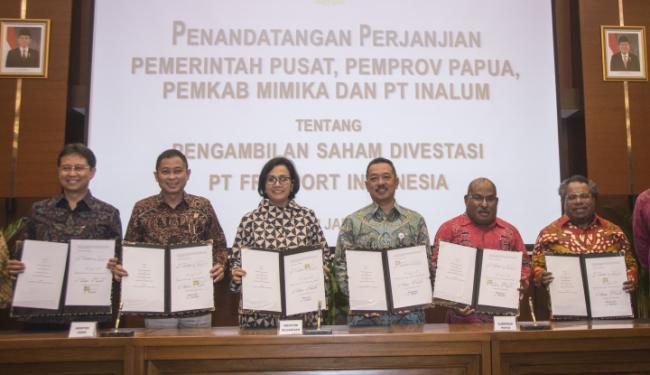 © Warta Ekonomi. Bupati Mimika: Papua Juga Terima Dividen Freeport