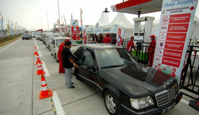 © Warta Ekonomi. Pemudik Jangan Gunakan BBM RON Tinggi, Ini Akibatnya