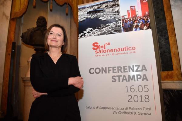 © Ansa. Salone Nautico Genova, boom di richieste