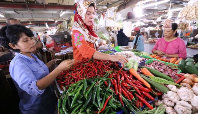 © Warta Ekonomi. Harga Cabai di Manado Turun Hingga 15 Persen
