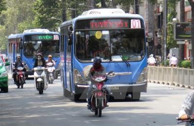 TP Hồ Chí Minh đẩy mạnh phát triển xe buýt để giảm ùn tắc giao thông