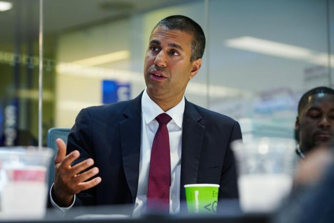 FCC Chairman Calls for Public Auction of C-Band Airwaves By Bloomberg