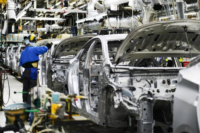 Japan hits speed bump with sharp drop in industrial output for Plant city department of motor vehicles