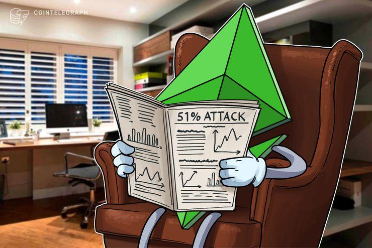 Ethereum Classic 51% Angreifer hat angeblich 87.000 € an eine Kryptobörse zurückgegeben