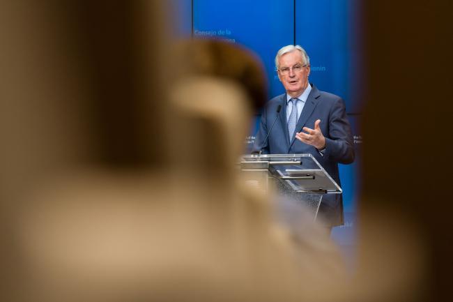 EU's Barnier Hits Boris Johnson With Brexit Trade Ultimatum