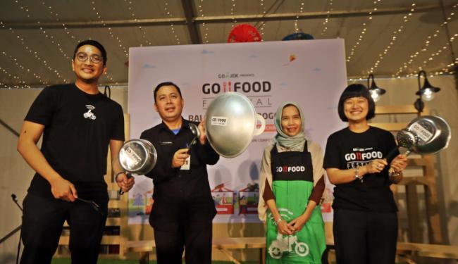 © Warta Ekonomi. Sukses di Jakarta, Go-Food Festival Kini Dukung UMKM Bogor