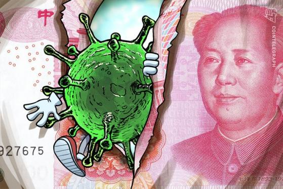 Chinese Quarantines Cash To Stop Coronavirus, Not an Issue With Bitcoin