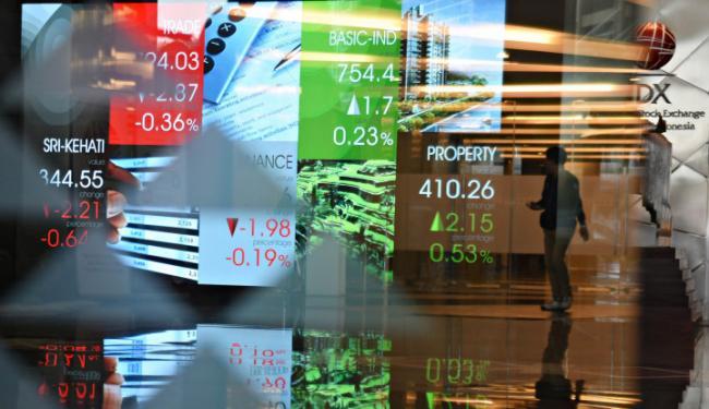© Warta Ekonomi. Jual Saham di Bursa, Berapa Harga Saham Perusahaan Transportasi Ini?