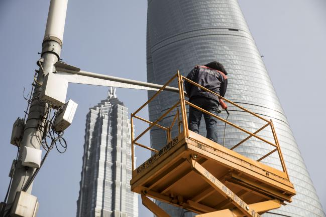 China Surveillance Giant Hikvision Slumps on U S  Ban Report