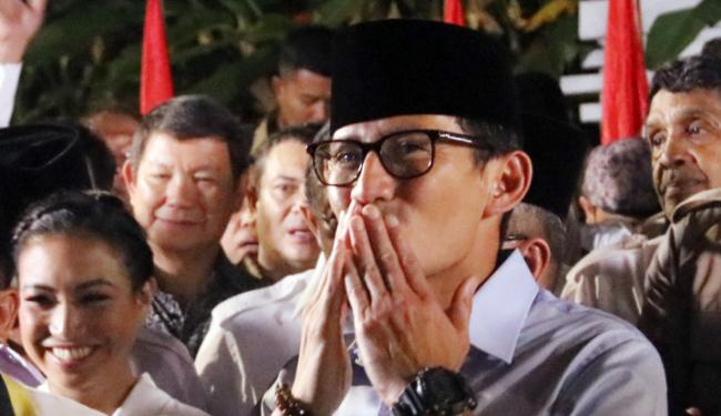 © Warta Ekonomi. Bang Sandi: Alhamdulillah, Pak Jokowi Akui Program DP 0 Persen