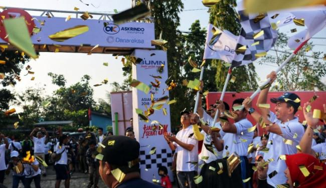 2.500 Masyarakat Ikut Gerak Jalan Sehat Askrindo-Danareksa di Kuala Kapuas