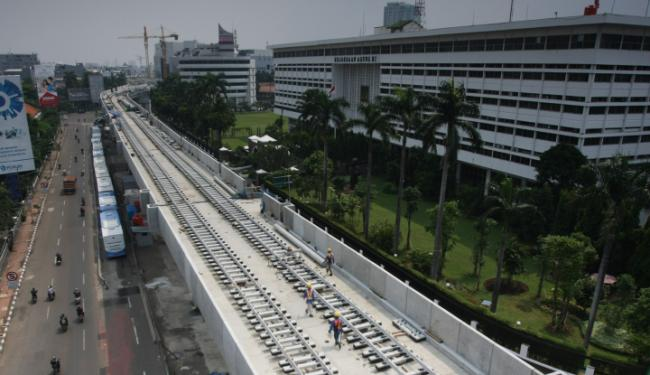 © Warta Ekonomi. Awas Warga Jakarta, Ada Pengalihan Arus Lantas di Jln Jend Sudirman
