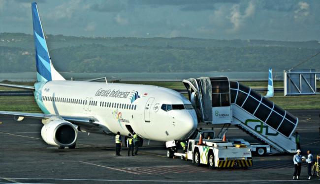 © Warta Ekonomi. Tiket Pesawat Garuda Tidak Alami Kenaikan