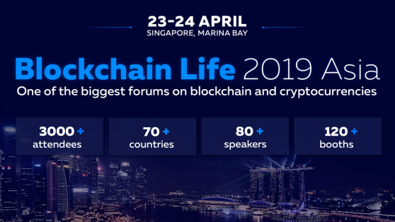Blockchain Life to Start in Singapore on April 23-24