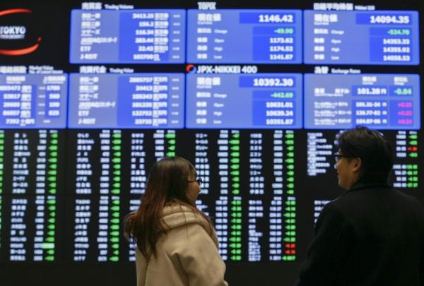 © Ansa. Borsa Tokyo apre in rialzo (+0,46%)