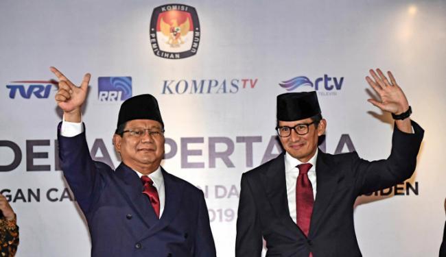 Mardani: Debat Pertama Prabowo-Sandi Unggul 3-0