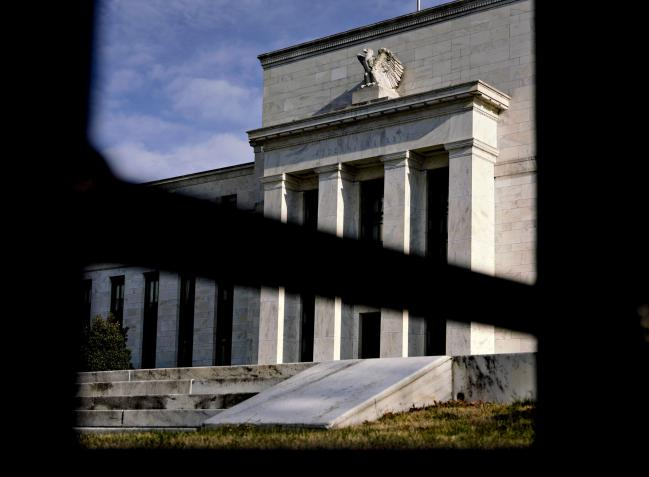 © Bloomberg. The Marriner S. Eccles Federal Reserve building stands in Washington, D.C., U.S., on Monday, April 8, 2019. The Federal Reserve Board today is considering new rules governing the oversight of foreign banks. Chairman Jerome Powell said the Fed wants foreign lenders treated similarly to U.S. banks.