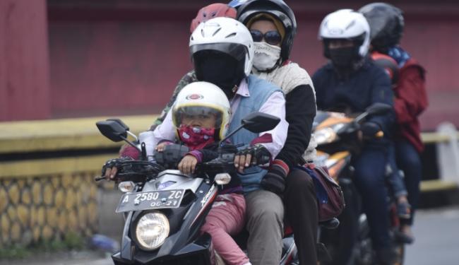 © Warta Ekonomi. Mudik Gunakan Motor Rentan Kecelakaan