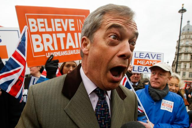 Brexit Party Threatens Tories and They Aren't Even Fighting Back