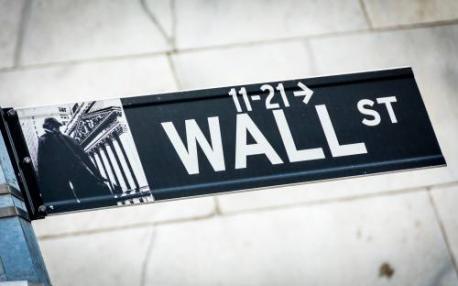 Banken in schijnwerpers op groen Wall Street