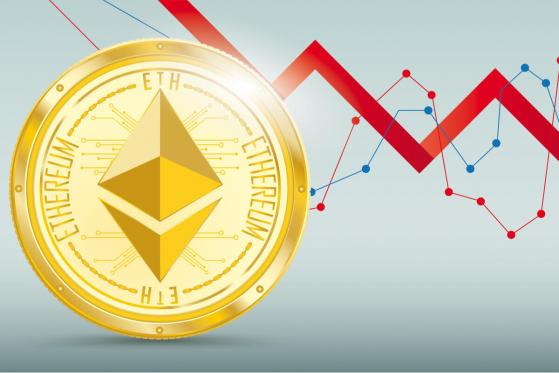 Ethereum (ETH): price weakness comes with sliding Hashrate