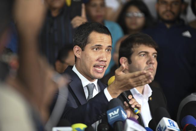 © Bloomberg. Juan Guaido Photographer: Carlos Becerra/Bloomberg