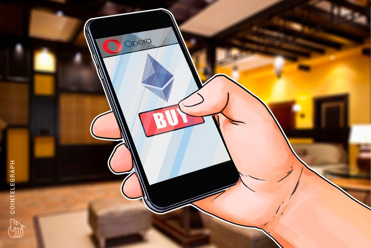 Opera Android Users in Sweden, Norway and Denmark Can Now Purchase Ethereum via Browser