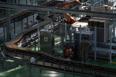 Bedrijvigheid industrie China licht gestegen