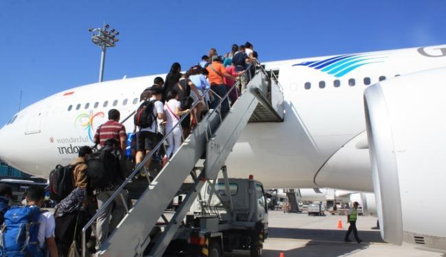 © Warta Ekonomi. Maskapai Penerbangan Mulai Jual Tiket Mudik Lebarab