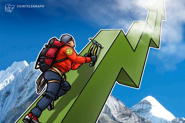 Los mercados de criptomonedas continúan resurgiendo, mientras que el Ripple se adjudica 68 por ciento de las ganancias semanales