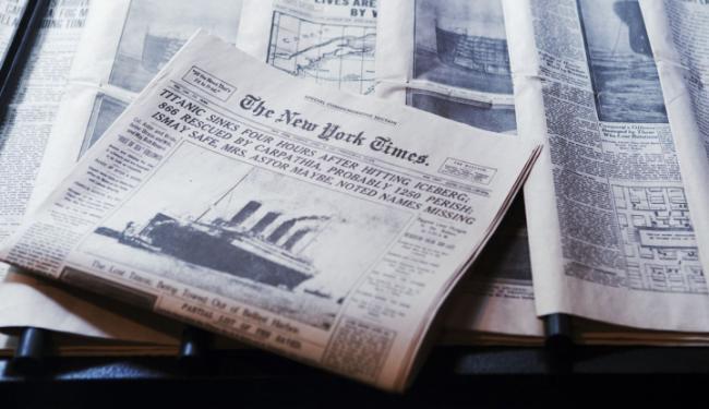 © Warta Ekonomi. CEO New York Times: Umur Jurnalisme Cetak Tersisa Satu Dasawarsa