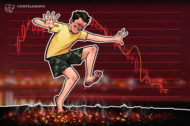 Bitcoin knapp über 3.600 US-Dollar, Kryptomärkte wieder im Abstieg