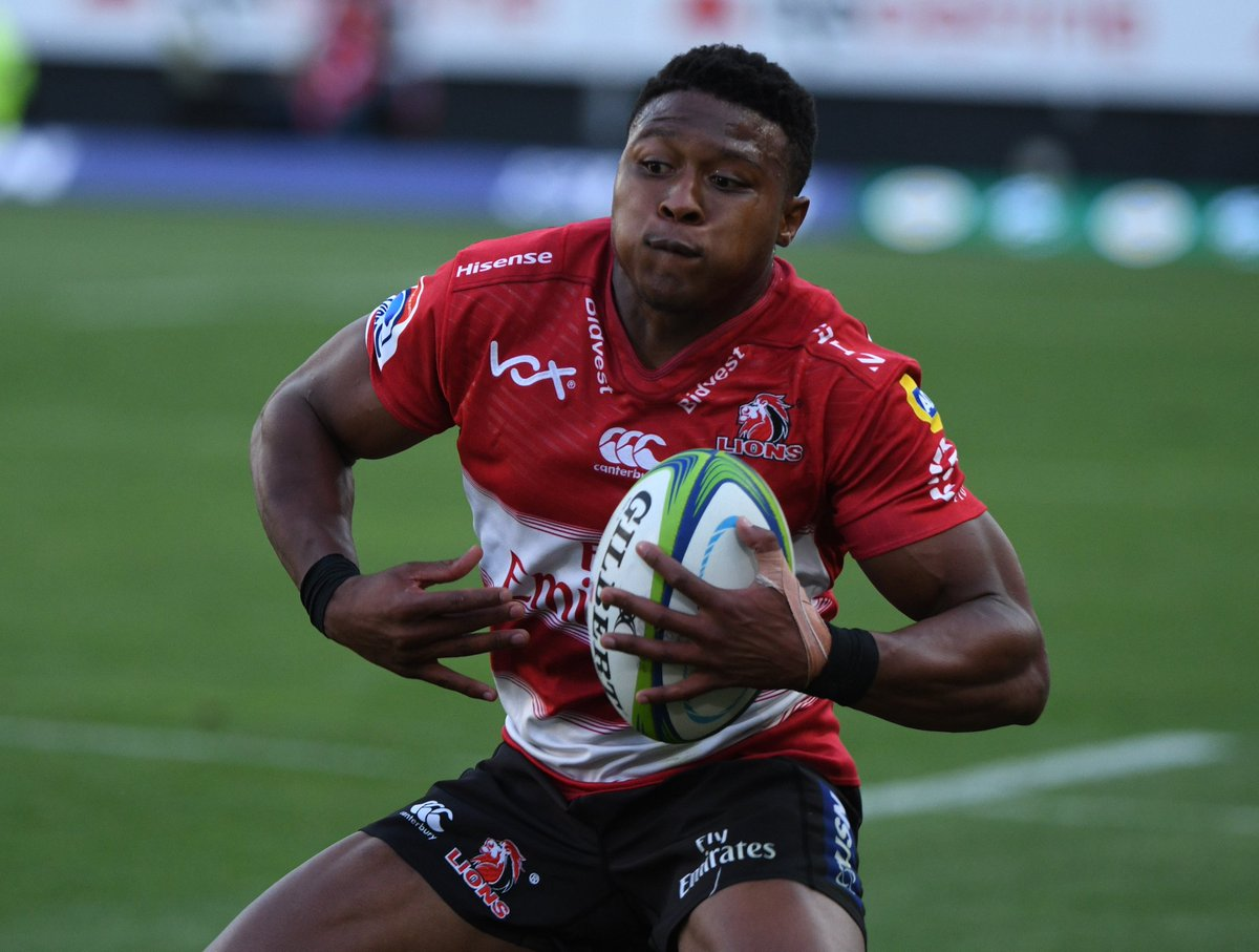 RUGBY-SUPER-TEAM: Lions debutant Wandisile Simelane makes Super Rugby Team  of the Week - Investing.com ZA