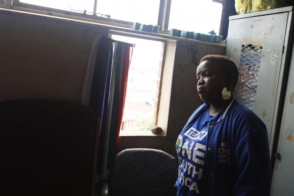 Van Damme urges Alex Residents to vote for the DA